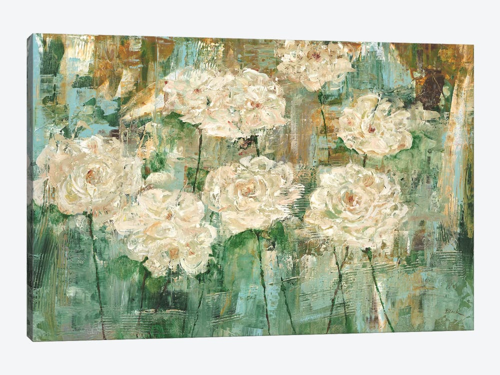 White Roses I by Carol Black 1-piece Art Print
