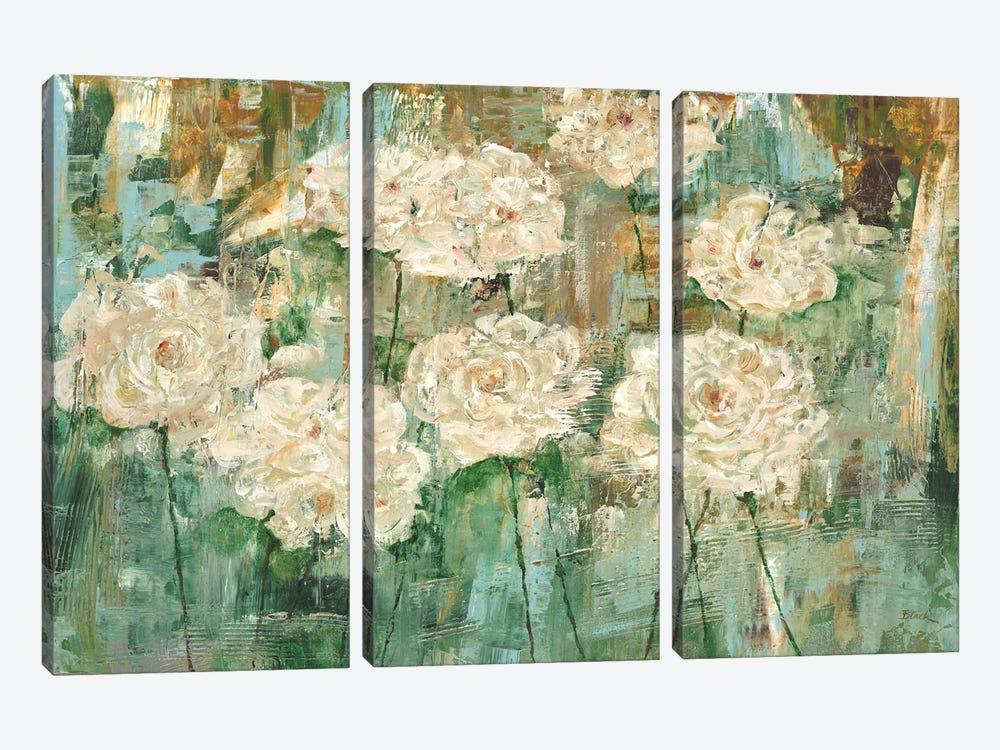 White Roses I by Carol Black 3-piece Art Print