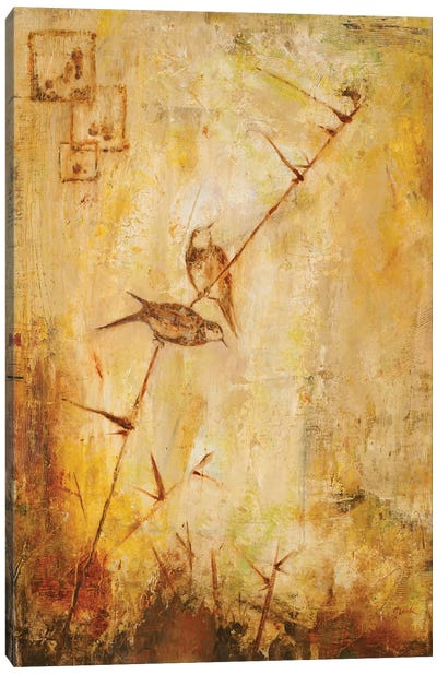 Birds Together Canvas Art Print