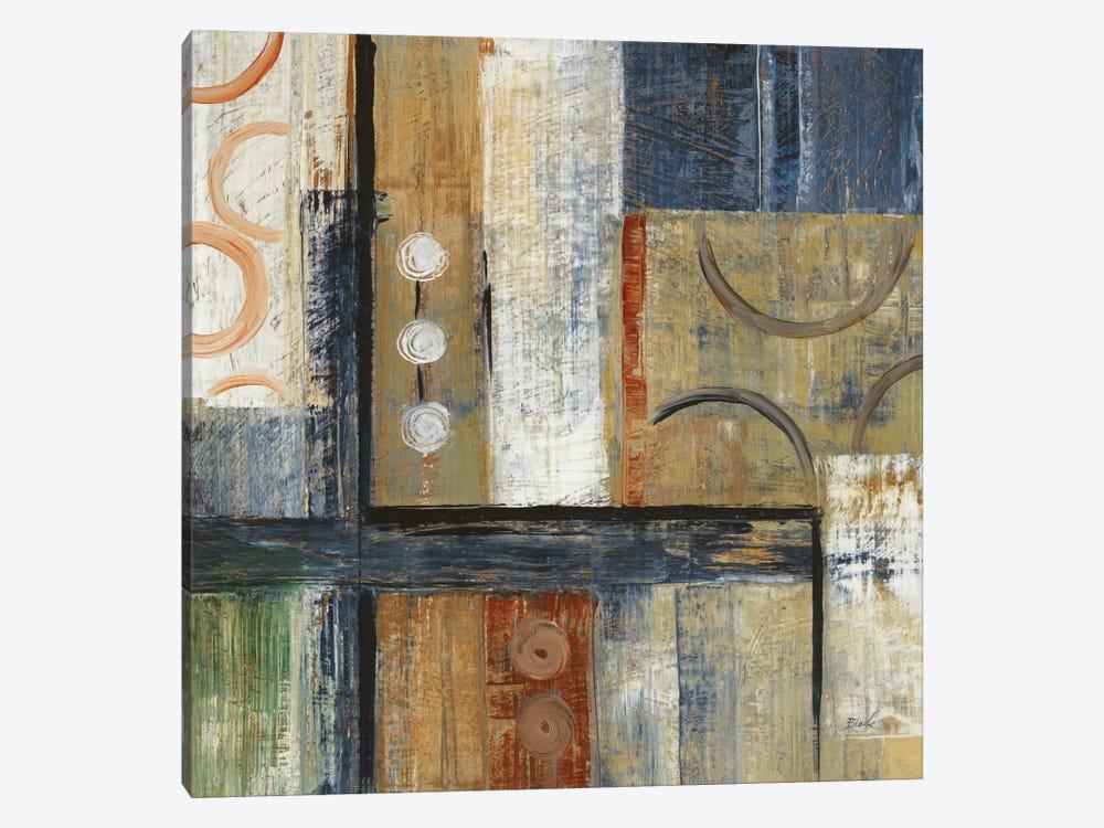 Coincidental Lines I by Carol Black 1-piece Canvas Print