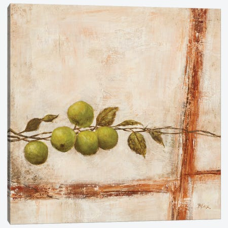 Crabapple I Canvas Print #CBL21} by Carol Black Canvas Artwork