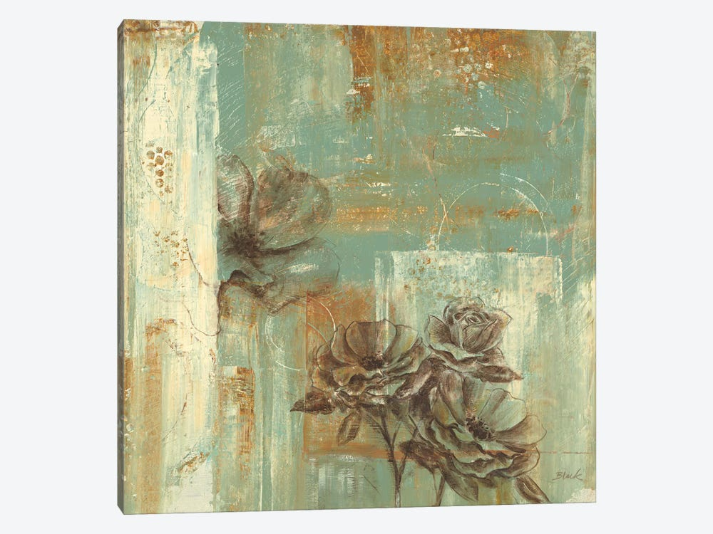 Eclectic Rose I by Carol Black 1-piece Canvas Art