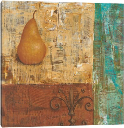 French Pear I  Canvas Art Print