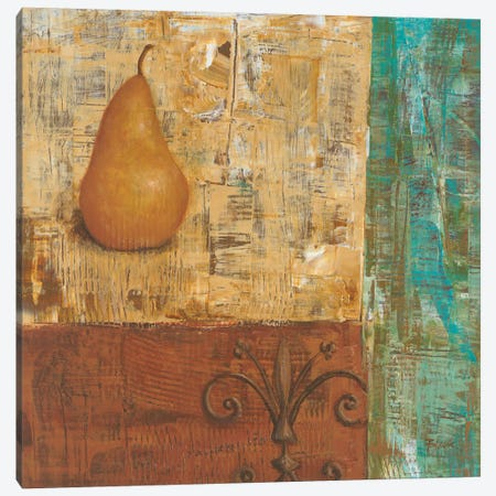 French Pear I  Canvas Print #CBL25} by Carol Black Canvas Art Print