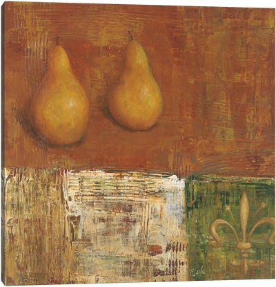 French Pear II Canvas Art Print