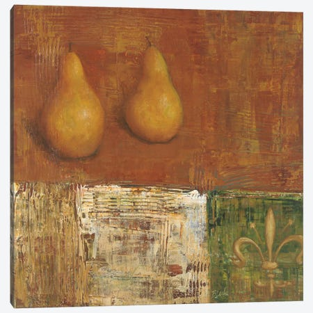 French Pear II Canvas Print #CBL26} by Carol Black Art Print