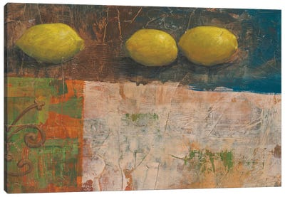 Lemon Medley I Canvas Art Print