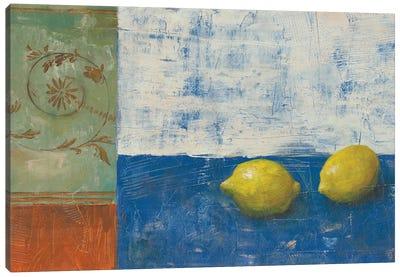 Lemon Medley II Canvas Art Print