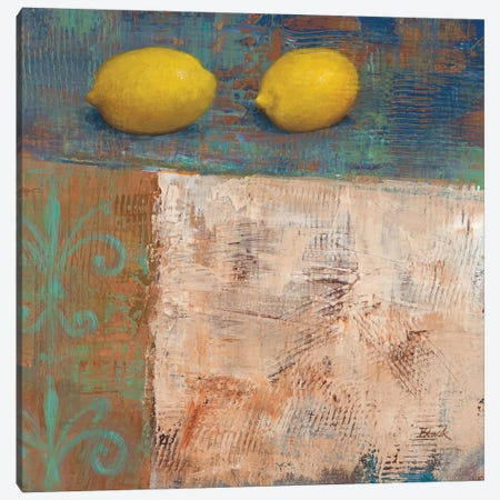 Lemons from Paris I Canvas Print #CBL37} by Carol Black Canvas Art