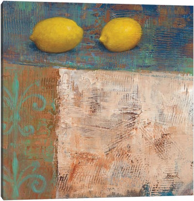Lemons from Paris I Canvas Art Print