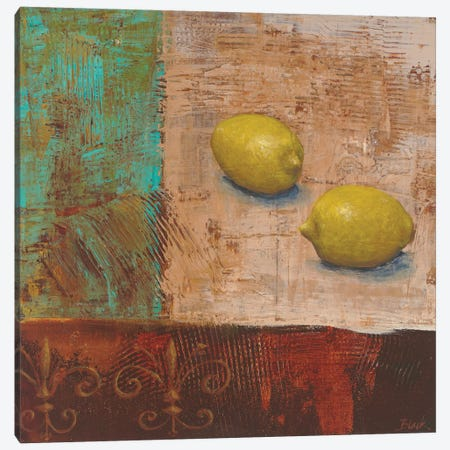Lemons from Paris II Canvas Print #CBL38} by Carol Black Art Print