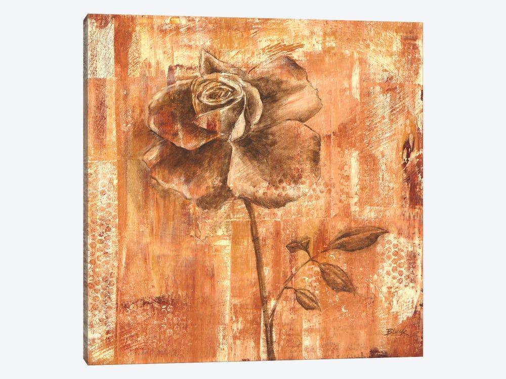 Rust Rose I by Carol Black 1-piece Canvas Wall Art