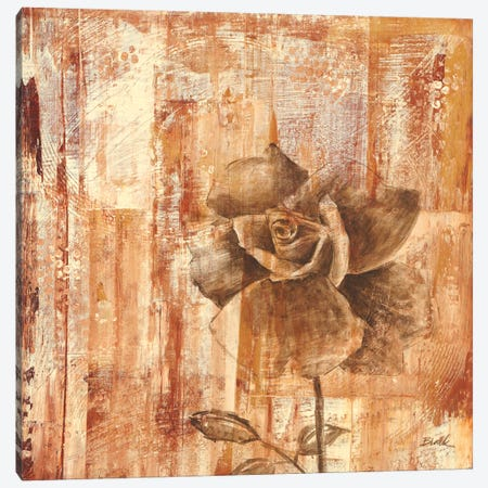 Rust Rose II Canvas Print #CBL51} by Carol Black Art Print