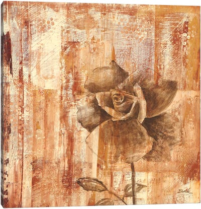 Rust Rose II Canvas Art Print