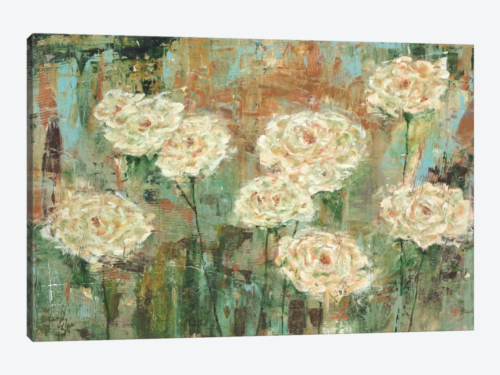 White Roses by Carol Black 1-piece Art Print