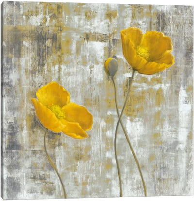 Yellow Flowers I Canvas Art Print