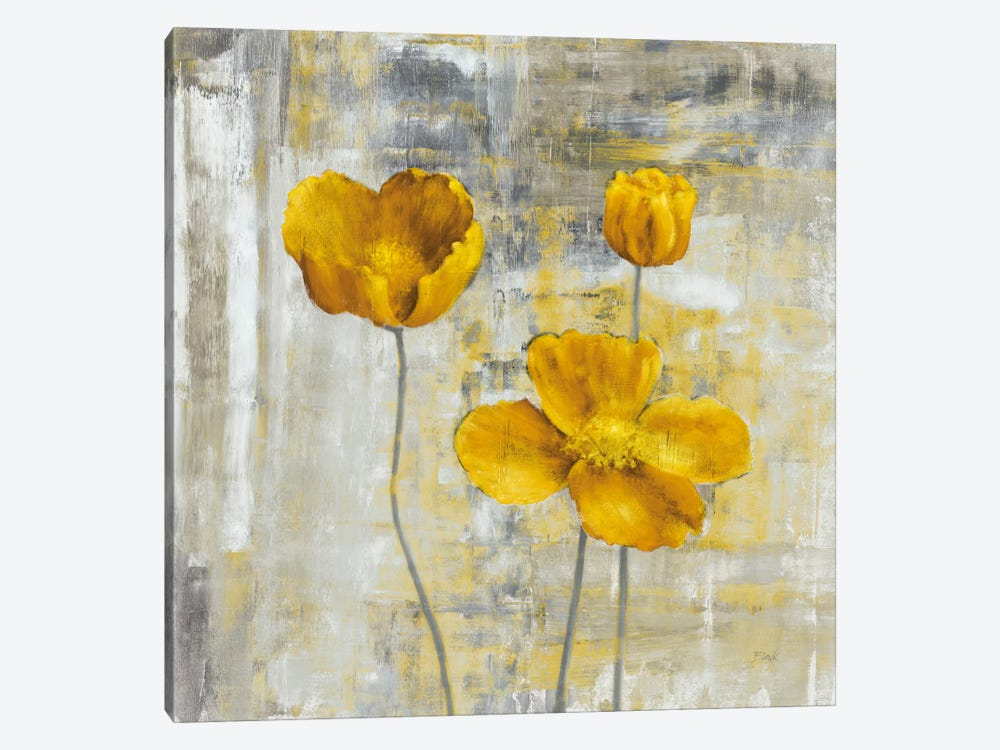 Yellow Flowers II by Carol Black 1-piece Art Print