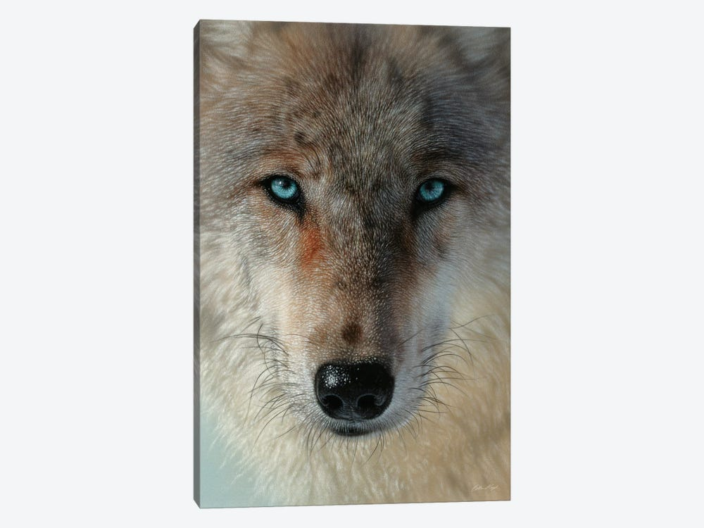Inner Wolf Pack, Vertical by Collin Bogle 1-piece Canvas Art