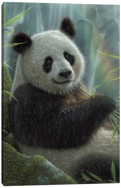 Panda Paradise - Vertical Canvas Art Print