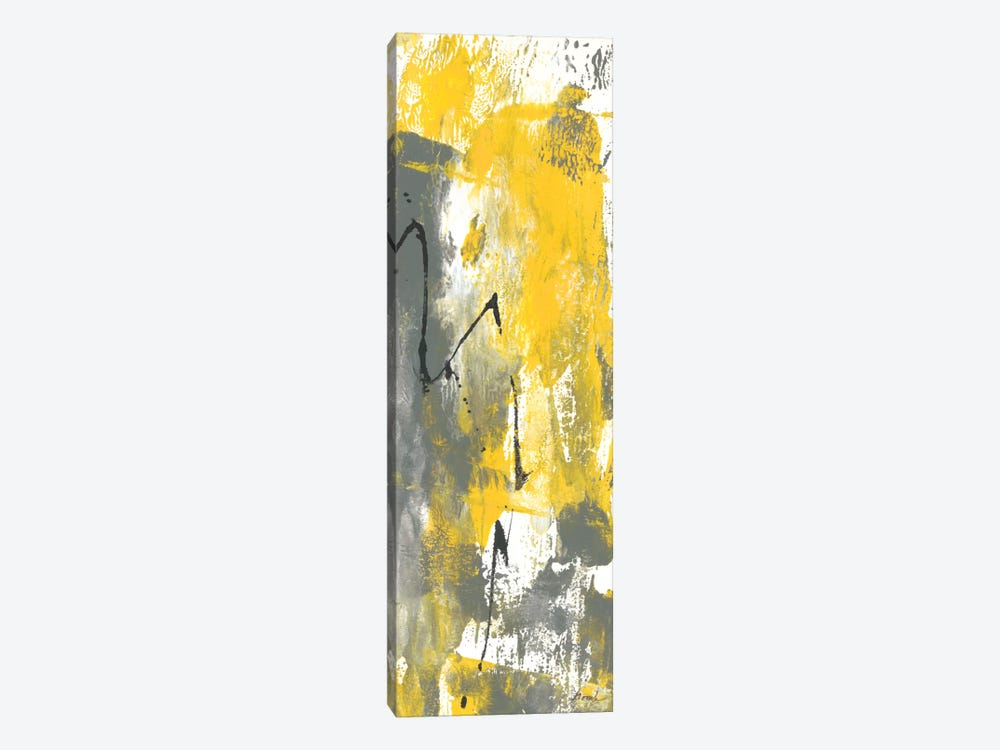 Grey Movement IV by Joyce Combs 1-piece Canvas Art Print
