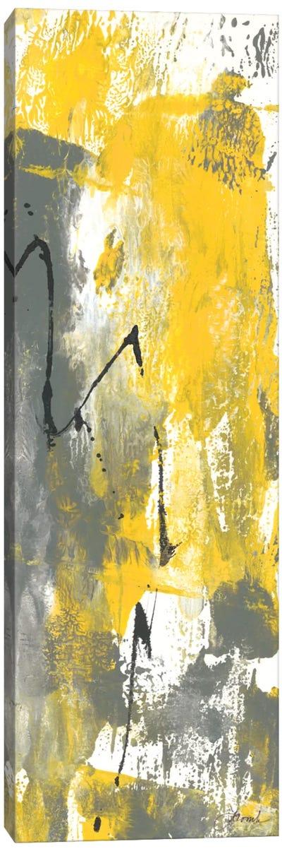 Grey Movement IV Canvas Art Print