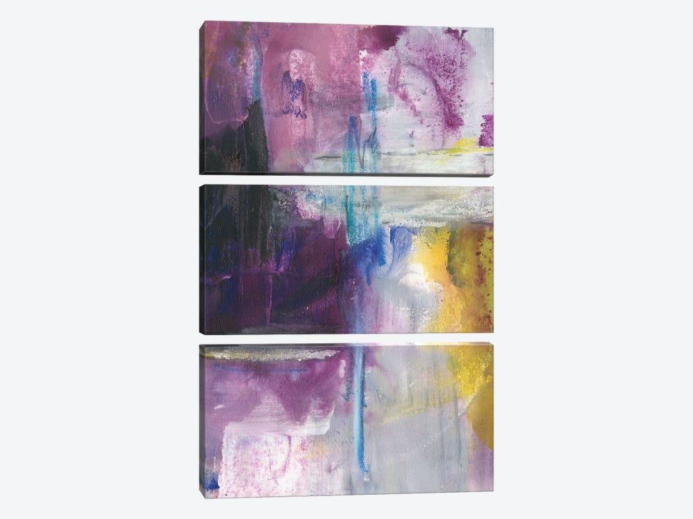 New Beginning II by Joyce Combs 3-piece Canvas Wall Art