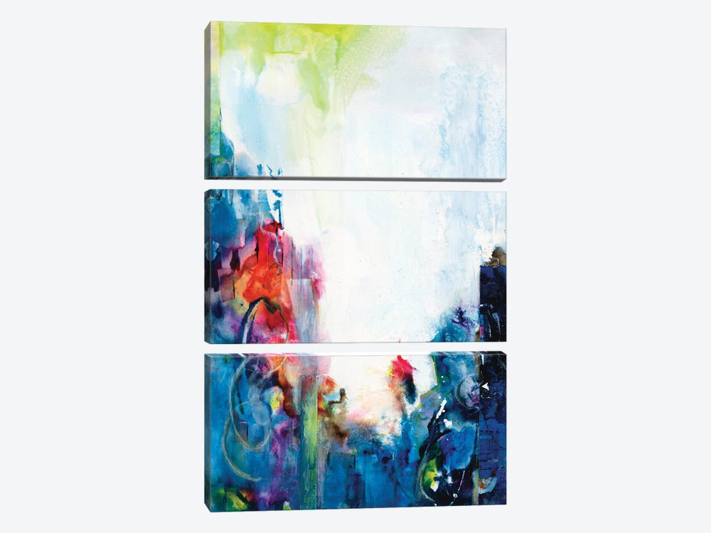 Silent Dreams II by Joyce Combs 3-piece Canvas Art