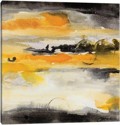 Paradise Island I Canvas Print #CBS15