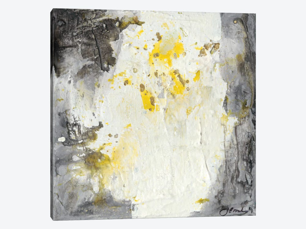 Soft Cliffs II by Joyce Combs 1-piece Canvas Print