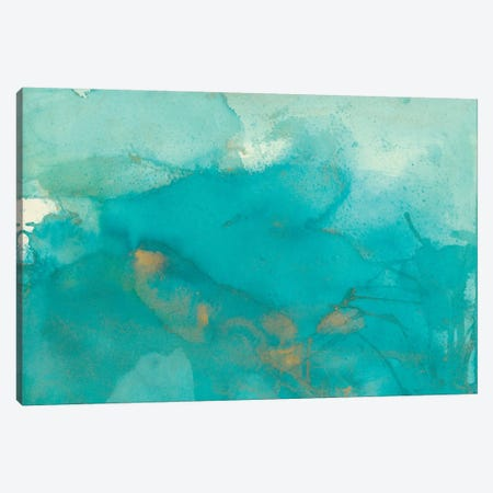 Turquoise Moment II Canvas Print #CBS20} by Joyce Combs Canvas Art Print