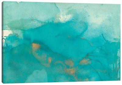 Turquoise Moment II Canvas Art Print