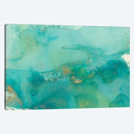 Turquoise Moment III Canvas Print #CBS21} by Joyce Combs Canvas Print