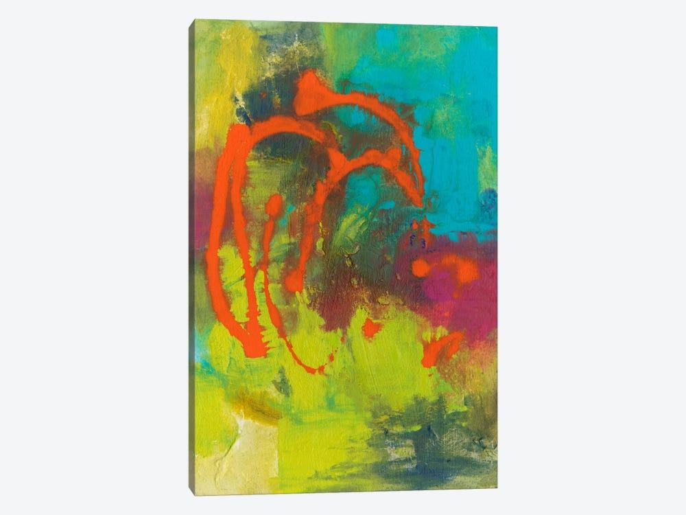 Orange Graffiti III by Joyce Combs 1-piece Art Print