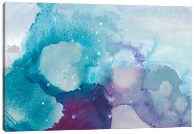 Ice Crystals II Canvas Art Print