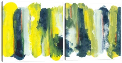 Becoming Light Diptych Canvas Art Print