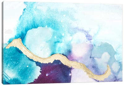Ice Crystals VI Canvas Art Print