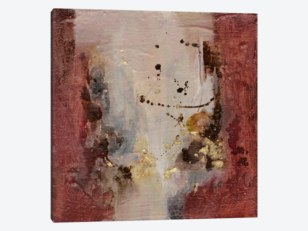 Early Autumn Abstract I 1-piece Canvas Art Print
