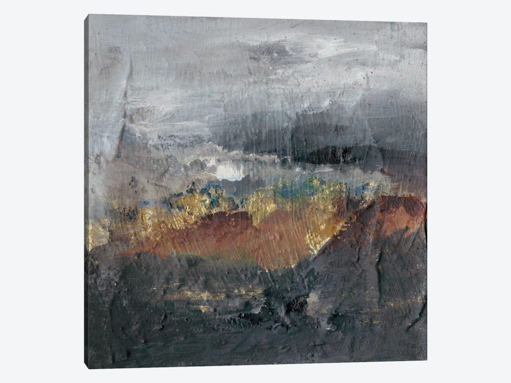 Mountains in The Mist I by Joyce Combs 1-piece Canvas Art