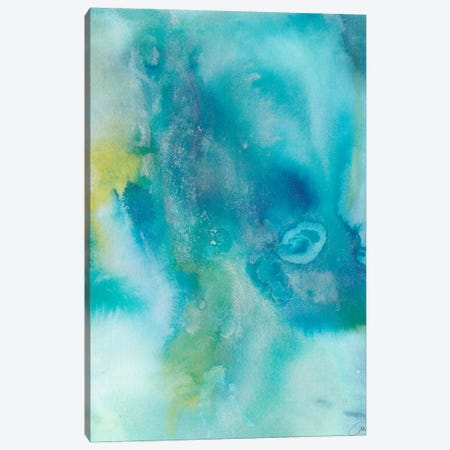 Sea Jade I Canvas Print #CBS65} by Joyce Combs Canvas Artwork