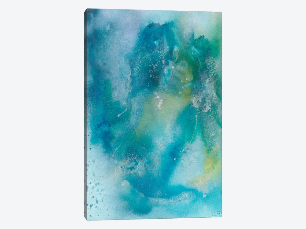 Sea Jade II by Joyce Combs 1-piece Canvas Wall Art