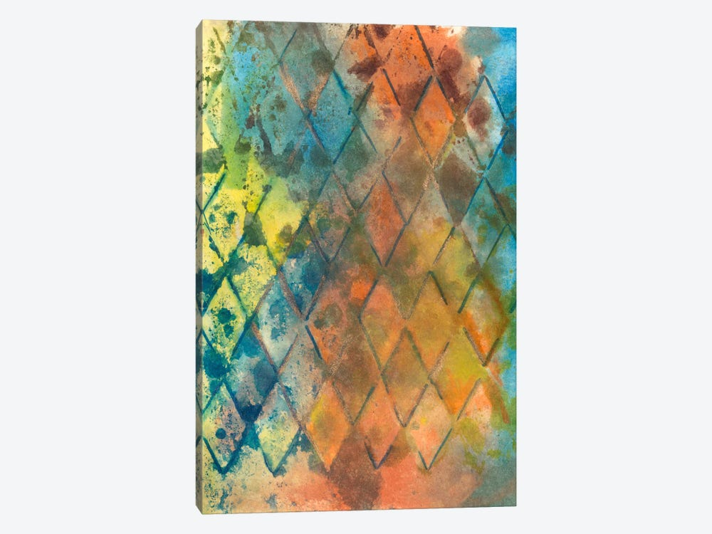 Spring Lattice I 1-piece Canvas Wall Art