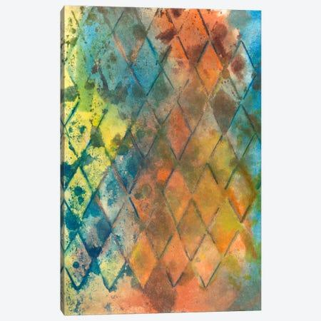 Spring Lattice I 3-Piece Canvas #CBS71} by Joyce Combs Canvas Wall Art