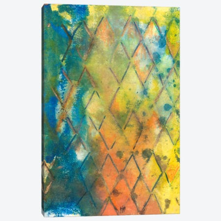 Spring Lattice II Canvas Print #CBS72} by Joyce Combs Canvas Artwork