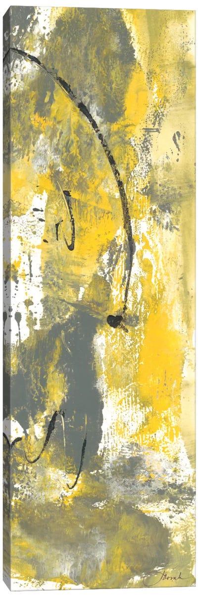 Grey Movement III Canvas Art Print