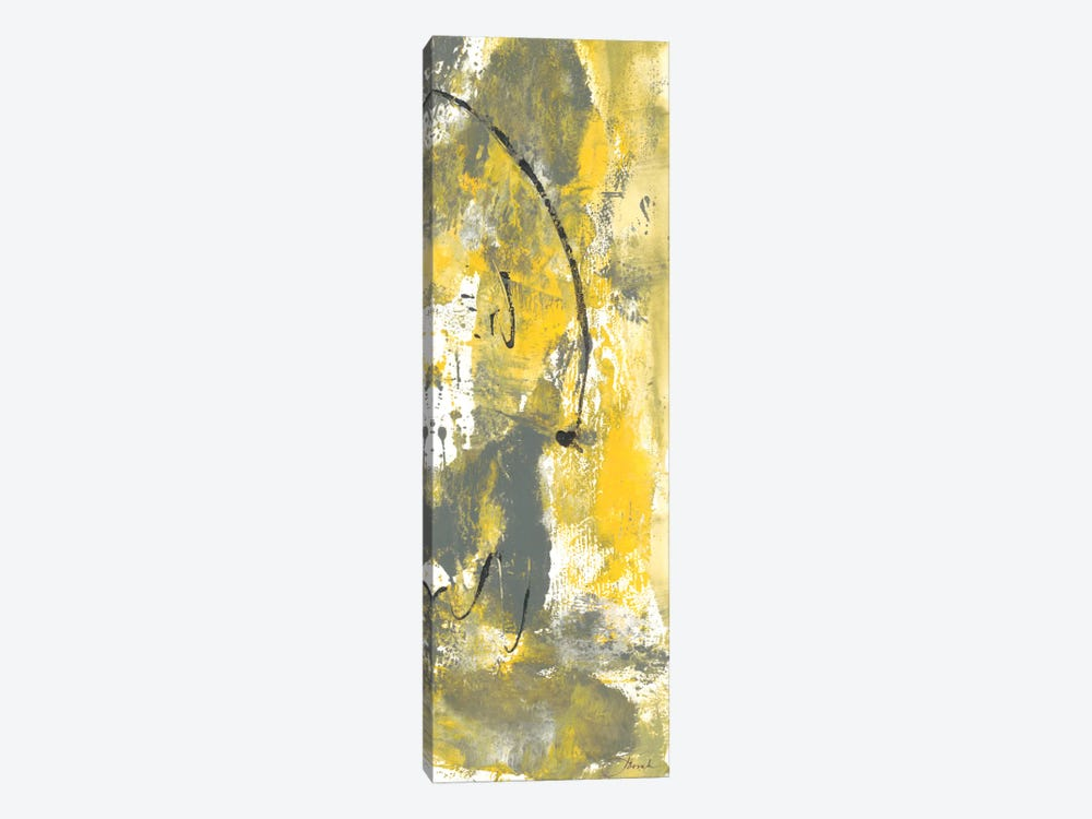 Grey Movement III by Joyce Combs 1-piece Canvas Wall Art