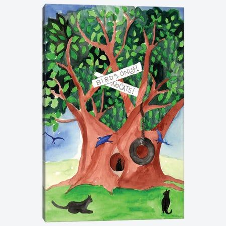 For The Birds Canvas Print #CBT101} by Cheryl Bartley Canvas Wall Art