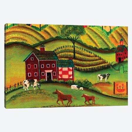 Free Spirit Farmland Canvas Print #CBT103} by Cheryl Bartley Canvas Wall Art