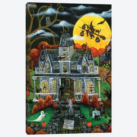 Halloween Potions Tricks and Treats Canvas Print #CBT113} by Cheryl Bartley Canvas Art Print