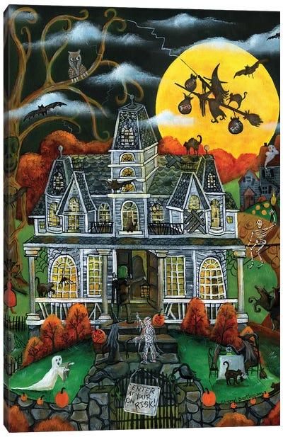 Halloween Potions Tricks and Treats Canvas Art Print