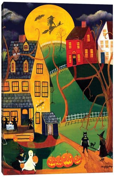 Halloween Trick or Treat Canvas Art Print